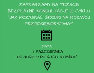 Trzecie konsultacje dla przedsiębiorczych we Wrocławiu
